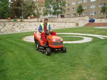 Sekání trávy ceník